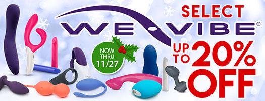 SheVibe We-Vibe Sale Banner