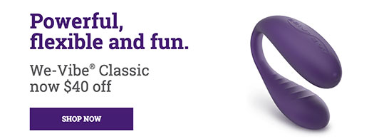 We-Vibe Classic Sale Banner