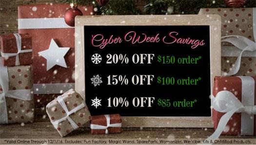 GoodViber Cyber Week Sale